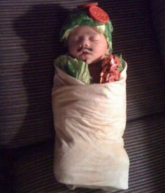 now THIS is a first Halloween costume!