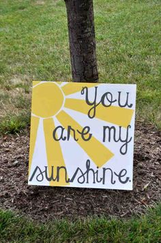 You are my sunshine canvas print on etsy!