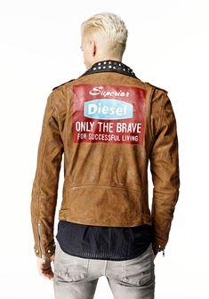 200aff087 diesel l-ulisses jacket - Google Search Diesel Jacket, Fashion Outlet, Ss 15