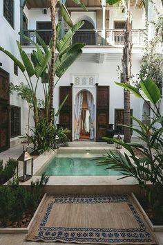 Maison traditionnelle Maroc