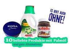 Bilderstrecke | 10 beliebte Produkte mit Palmöl und gute Alternativen