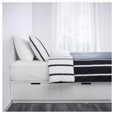 Merveilleux IKEA   NORDLI Bed Frame With Storage White