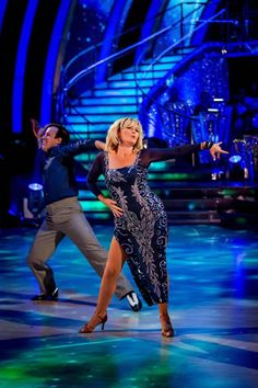 Fiona Fullerton and Anton DuBeke Perform In Week 4 Of Strictly Come Dancing 2013