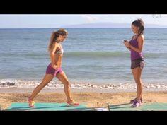 Lean Sexy Legs Routine with Karena and Katrina