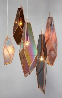Crystal Shaped Lighting