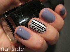 tribal. i'd like it better for toe nails