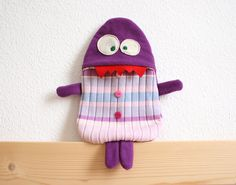 Rosie warm water bottle cover by HappyMonstersLand on Etsy, $26.00