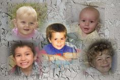 Photo illustration: Yahoo News. Photos: courtesy of the families (5), Getty Images.