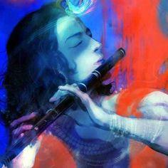 Beautiful Painting of Lord Krishna