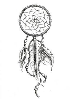 Image result for dreamcatcher tattoos with birds drawings