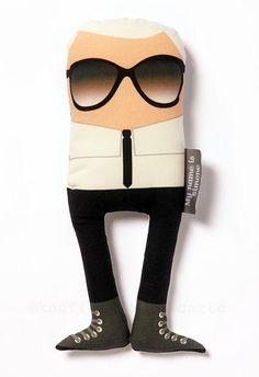 Karl Lagerfeld, doll