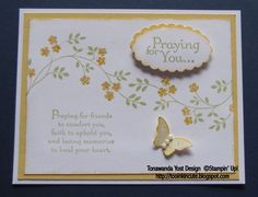 Thoughts & Prayers Stamp Set - Stampin' Up!