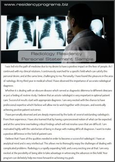 Write Good Radiology Residency Personal Statement with Us Radiology Residency, Residency Programs, Clinic, Medicine, Positivity, Writing, Learning, Life, Medical