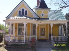 whimsical mansions | Las Animas, CO : A Whimsical Victorian photo, picture, image (Colorado ...