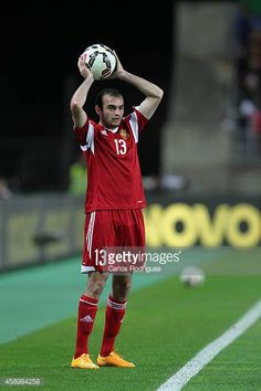 Armenia's defender Kamo Hovhannisyan during the EURO 2016 qualification match between Portugal and Armenia at the Estadio do Algarve on November 14...