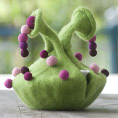 """Spotted Gourd Tea Cozy, """"How Tea Cozies Changed the World"""""""