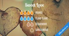 Blend Recipe: 4 drops Orange, 4 drops Ylang Ylang, 2 drops Cedarwood, 1 drop Sandalwood