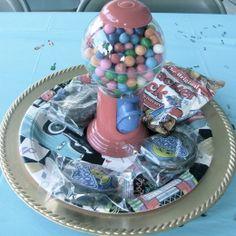 Candy buffet cracker jacks moon pies gumball machine