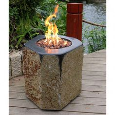 """Get excellent pointers on """"fire pit gravel"""". They are on call for you on our site. Wood Fire Pit, Diy Fire Pit, Fire Pit Backyard, Backyard Seating, Outdoor Fire Table, Fire Pit Table, Foyer Propane, Stainless Steel Fire Pit, Fire Pit Gallery"""