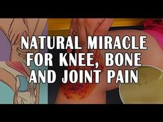 People Go Crazy For This Recipe! It Heals Knee, Bone and Joint Pain - Improve your health right now