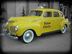 Classic Yello Taxi