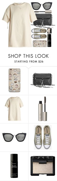 """Denver"" by monmondefou ❤ liked on Polyvore featuring Rebecca Minkoff, Marques'Almeida, Ilia, Prada, Liberty, NARS Cosmetics, black and beige"
