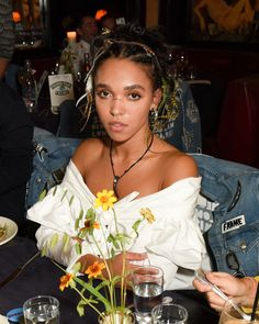 "celebritiesofcolor: "" FKA Twigs attends the FRAME dinner in NYC """