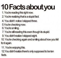 Haha I did all of them, except 12. I saw that one coming. heehee, I would SO write something like that.