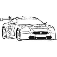 Coloring Little Jaguar Pages Race Your Ones Top Car For Thetop 25 Race Car Coloring Pages For Your Little Ones The Jaguarthe Jaguar