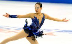 スケートアメリカで優勝した浅田真央のフリーの演技=川村直子撮影