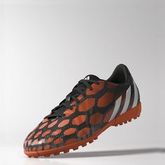 new photos 39a9a 8b905 Predito Instinct TF Shoes, Core Black   Core White   Solar Red Football  Boots,