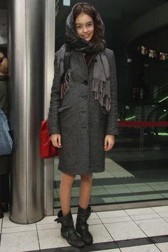 Tokyo Fashion Week street style. [Photo by Onnie Koski]