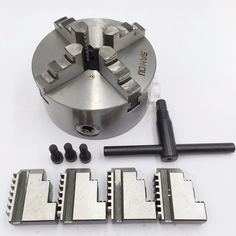 78.75$  Buy here - http://alisjx.worldwells.pw/go.php?t=32740063753 - K12-160 160mm 4 Jaw Independent Lathe Chuck Self-centering 6'' Sold Jaws for Metalworking Lathe 78.75$