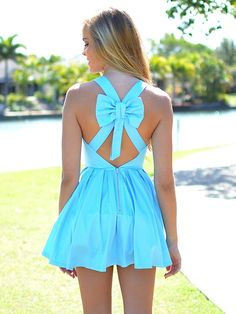 In love with this in orange with a black bow for bridesmaids dresses.
