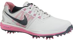 buy popular 9e844 5796c Nike Women's Lunar Control Golf Shoes 704676 001 Pink/Pure Platinum Size 9  #NikeAir