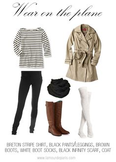 Take a look at 25 best airport style winter outfits to copy to your next flight in the photos below and get ideas for your own outfits! Beyond obsessed with this look like a comfy and cute outfit for flying. Winter Travel Outfit, Winter Outfits, Travel Outfits, Travel Attire, Travelling Outfits, Travel Wardrobe, Capsule Wardrobe, Breton Stripe Shirt, How To Have Style