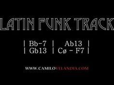 Backing Tracks - Latin Funk (Bb-) - YouTube