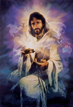 The Lord Jesus Christ, Yeshua, is the. 'Light of the World' by Michael Dudash Jesus Our Savior, Jesus Art, Jesus Is Lord, Pictures Of Jesus Christ, Religious Pictures, Religious Art, Jesus Reyes, Images Bible, Padre Celestial