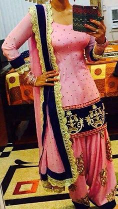 Heavy punjabi suit