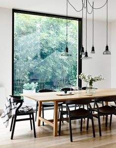 You Need To See Scandinavian Design Inspiration That You Need To See Scandinavian Design Inspiration That You Need To See 24 Amazing Scandinavian Dining Room Design Ideas – Home Design Triangolo with Tabula table Home Decor Styles, Dining Lighting, Room Design, Dining Room Lighting, Dining Room Design, Scandinavian Dining Room, Living Room Design Modern, Living Room Designs, Black Window Frames