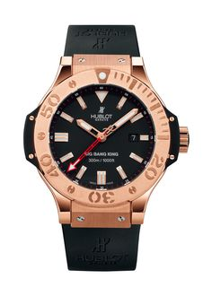 Big Bang King Gold 48mm Diver watch from Hublot
