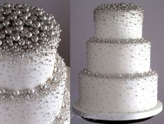 28 trendy wedding cakes with bling gold fondant Bling Cakes, Fancy Cakes, Cute Cakes, Pretty Cakes, Gorgeous Cakes, Amazing Cakes, Gold Fondant, Winter Torte, Silver Wedding Decorations