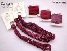 Silk Thread / Selyem hímzőfonal | Nina's Threads