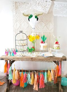diego's first fiesta! margarita + sangria bar for diego's first fiesta created by: the love designed life pc: dream photography studio First Birthday Parties, First Birthdays, Colorful Birthday Party, 21st Party, Colorful Party, Birthday Party Checklist, First Birthday Party Decorations, Graduation Party Themes, Birthday Backdrop