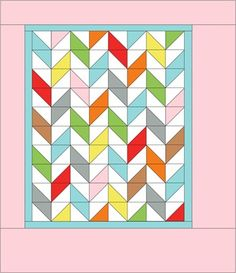 Sweet n' Sassy Baby Quilt | Cluck Cluck Sew