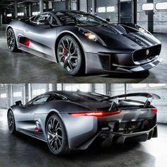 The Jaguar CX-75 Prototype is the most technologically advanced road car ever conceived. Want your minds blown!? Hit the image this CX-75 #viralvideo