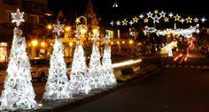 """A cidade de Gramado, no Rio Grande do Sul, já está toda enfeitada para o Natal e recebe o evento """"Natal de Luz"""" até 12 de janeiro de 2014. Vale a pena conferir as atrações. Foto: Divulgação/Cleiton Thiele/SerraPress."""