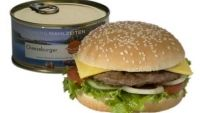 Canned Cheeseburger, Yep this is a thing