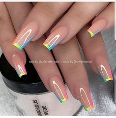Top Awesome Coffin Nails Design 2019 You Must Try Awesome coffin nails are the hottest nails now. We collected of the most popular coffin nails. So, you don't have to spend too much energy. It's easy to find your favorite coffin nail design. Nails Now, Aycrlic Nails, Swag Nails, Coffin Nails, Summer Acrylic Nails, Best Acrylic Nails, Nagel Hacks, Fire Nails, Rainbow Nails