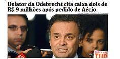 O Brasil é uma comédia. Está na Folha: O ex-presidente da Odebrecht Infraestrutura Benedito Júnior, o BJ, disse em depoimento ao TSE (Tribunal Superior Eleitoral) nesta quinta-feira (2) que a empreiteira baiana doou R$...